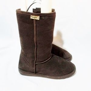 BEARPAW Suede Shearling BOOTS